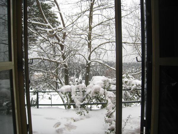 Καταφύγιο Καλλίδρομο με Χιόνι