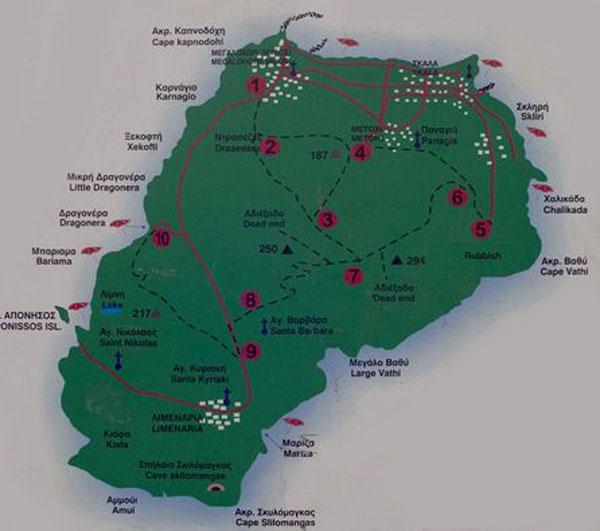 Map Agistri